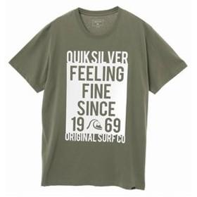 【クイックシルバー:トップス】【QUIKSILVER クイックシルバー 公式通販】クイックシルバー (QUIKSILVER)プリント Tシャツ FEELING FINE ST