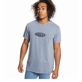 【クイックシルバー:トップス】【ORIGINALS】 Tシャツ OG STRIPES & ART TEE