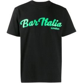 Sacai Bar Italia Tシャツ - ブラック