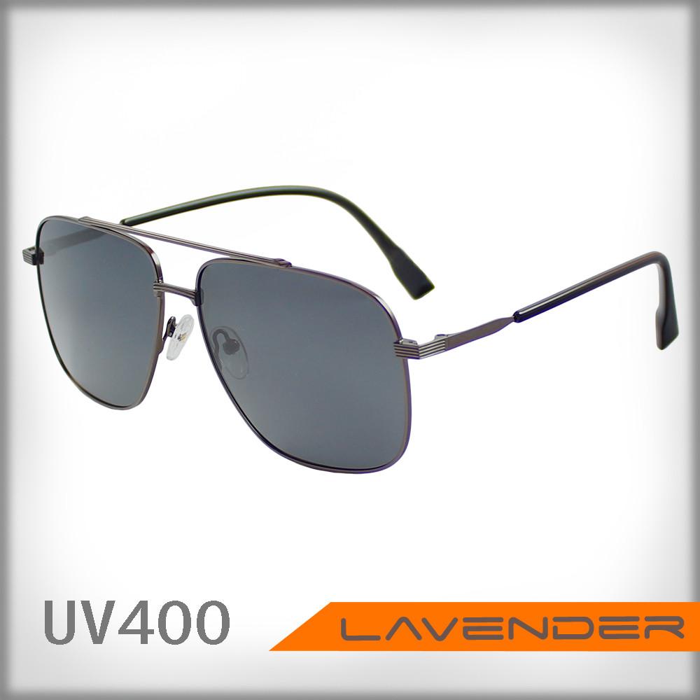 Lavender 偏光片太陽眼鏡 P8668 C1 鐵黑