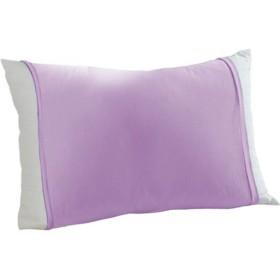 のびのび枕カバー(筒型・Tシャツ素材) - セシール ■カラー:ラベンダー ブルー コーラル