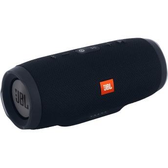 JBL Charge 3 防水ポータブル Bluetooth スピーカー (ブラック)