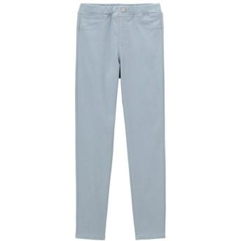(GU)KIDS(男女兼用)エクストラストレッチカラーレギンスパンツ(のびのびパンツ) BLUE 110