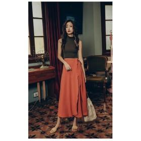 夏コーデにぴったり♪韓国ファッション チュールスカート ロング ボリューム マキシスカート レディース