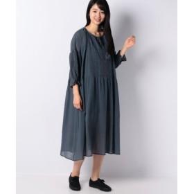 (Samansa Mos2/サマンサ モスモス)刺繍ワンピース/レディース グリーン