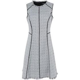 《セール開催中》DKNY レディース ミニワンピース&ドレス ホワイト 2 ポリエステル 100%