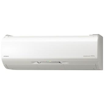 日立 RAS-X25J スターホワイト ステンレス・クリーン 白くまくん プレミアムXシリーズ [エアコン (主に8畳用)]