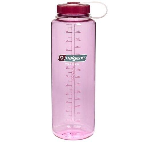 Nalgene 寬嘴水壺/運動水瓶/寬口瓶 Tritan 1500cc 美國製 2178-1048 太空粉
