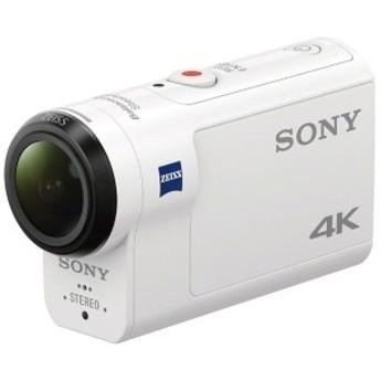 SONY FDR-X3000 ホワイト アクションカム [デジタル4Kビデオカメラレコーダー]【あす着】