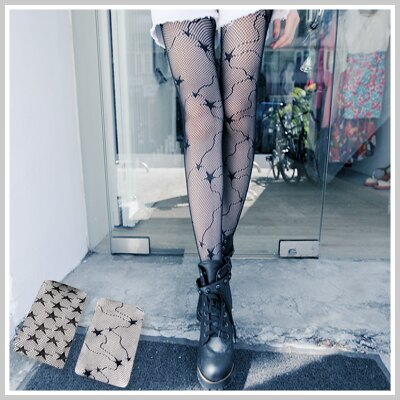 ☆雙兒網☆ City mood 【ap977】ViVi雜誌Lena愛用性感美腿必備網狀洞洞褲襪媲美香川絲襪