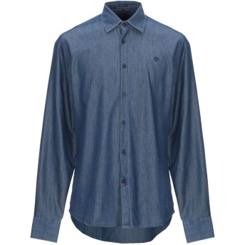 《期間限定 セール開催中》NORTH SAILS メンズ デニムシャツ ブルー L コットン 100%