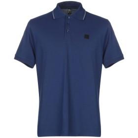 《期間限定 セール開催中》OUTHERE メンズ ポロシャツ ブルー S コットン 55% / ポリエステル 45%