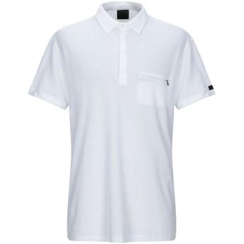 《9/20まで! 限定セール開催中》RRD メンズ ポロシャツ ホワイト 56 コットン 100%