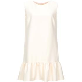 《セール開催中》BLUGIRL BLUMARINE レディース ミニワンピース&ドレス アイボリー 42 ポリエステル 90% / ポリウレタン 10%