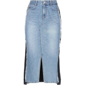 《期間限定セール開催中!》SJYP レディース デニムスカート ブルー XS コットン 100% / ポリエステル