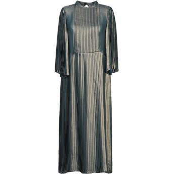 《セール開催中》MANILA GRACE レディース 7分丈ワンピース・ドレス ブロンズ 38 ポリエステル 100%