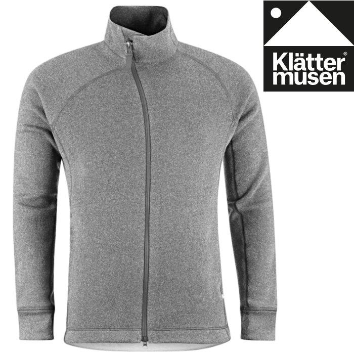 Klattermusen 攀山鼠 保暖羊毛外套/刷毛外套/中層衣 Balder Zip 男款 KM20605M 礦灰 LG