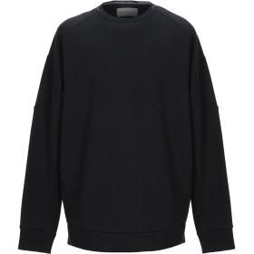 《期間限定 セール開催中》CALVIN KLEIN JEANS メンズ スウェットシャツ ブラック XL コットン 60% / ポリエステル 40%