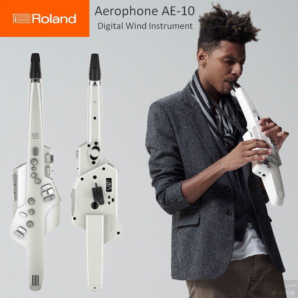 【非凡樂器】Roland Aerophone AE-10 可用傳統薩克斯風指法,內建多種音色的全新數位吹管