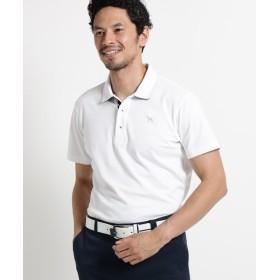 adabat(Men)(アダバット(メンズ)) 【吸水速乾/UVカット】チェーンモチーフ半袖ポロシャツ メンズ