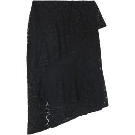 《期間限定 セール開催中》PEPITA レディース 7分丈スカート ブラック 40 コットン 38% / レーヨン 35% / ナイロン 27%
