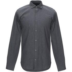 《期間限定 セール開催中》JACK & JONES PREMIUM メンズ シャツ 鉛色 S コットン 100%