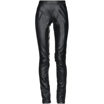 《セール開催中》TWINSET レディース パンツ ブラック M ポリウレタン 100% / レーヨン / ナイロン / ポリウレタン