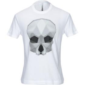 《期間限定セール開催中!》NEIL BARRETT メンズ T シャツ ホワイト XS コットン 50% / レーヨン 50%