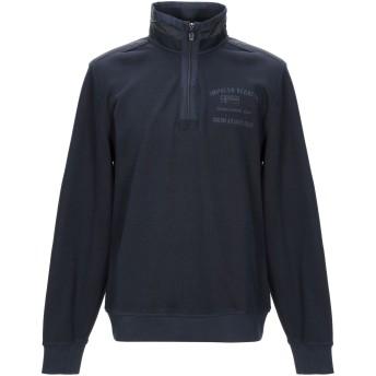 《セール開催中》IMPULSO メンズ スウェットシャツ ダークブルー 50 コットン 50% / ポリエステル 50%