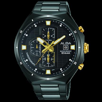 ALBA VD57-X087SD(AM3403X1) 聖誕節限定款計時腕錶/45.7mm