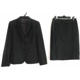 バーバリーロンドン Burberry LONDON スカートスーツ サイズ38 L レディース ダークグレー /3点セット【中古】
