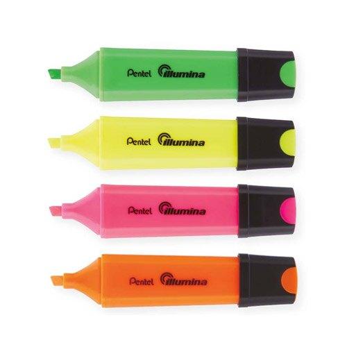【史代新文具】飛龍牌PENTEL SL60 四方螢光筆/方形螢光筆