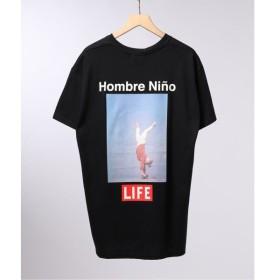 [マルイ] メンズTシャツ(LIFE×Hombre Nino フロントメッセージ Tシャツ)/エディフィス(EDIFICE)