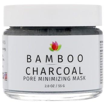 竹炭、毛穴最小化マスク、2オンス (55 g)