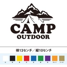 キャンプ アウトドア ステッカー