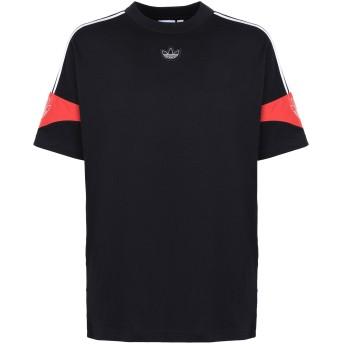 《期間限定セール開催中!》ADIDAS ORIGINALS メンズ T シャツ ブラック S コットン 100% TS TRF TEE