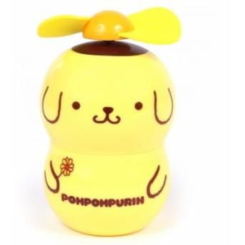 ポムポムプリン 携帯扇風機 ハンディファン ポータブル扇風機 キャラファン 手持ち 小型扇風機 コンパクト ミニ扇風機 キャラクbig_la