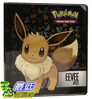 """[美國直購] 神奇寶貝 精靈寶可夢周邊 Pokemon Eevee 2"""" 3-Ring Binder 收藏夾不含卡片收納套"""