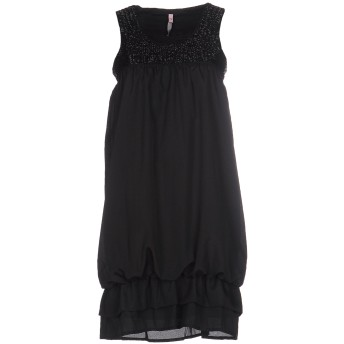 《期間限定セール開催中!》SCEE by TWINSET レディース ミニワンピース&ドレス ブラック XS ポリエステル 100%