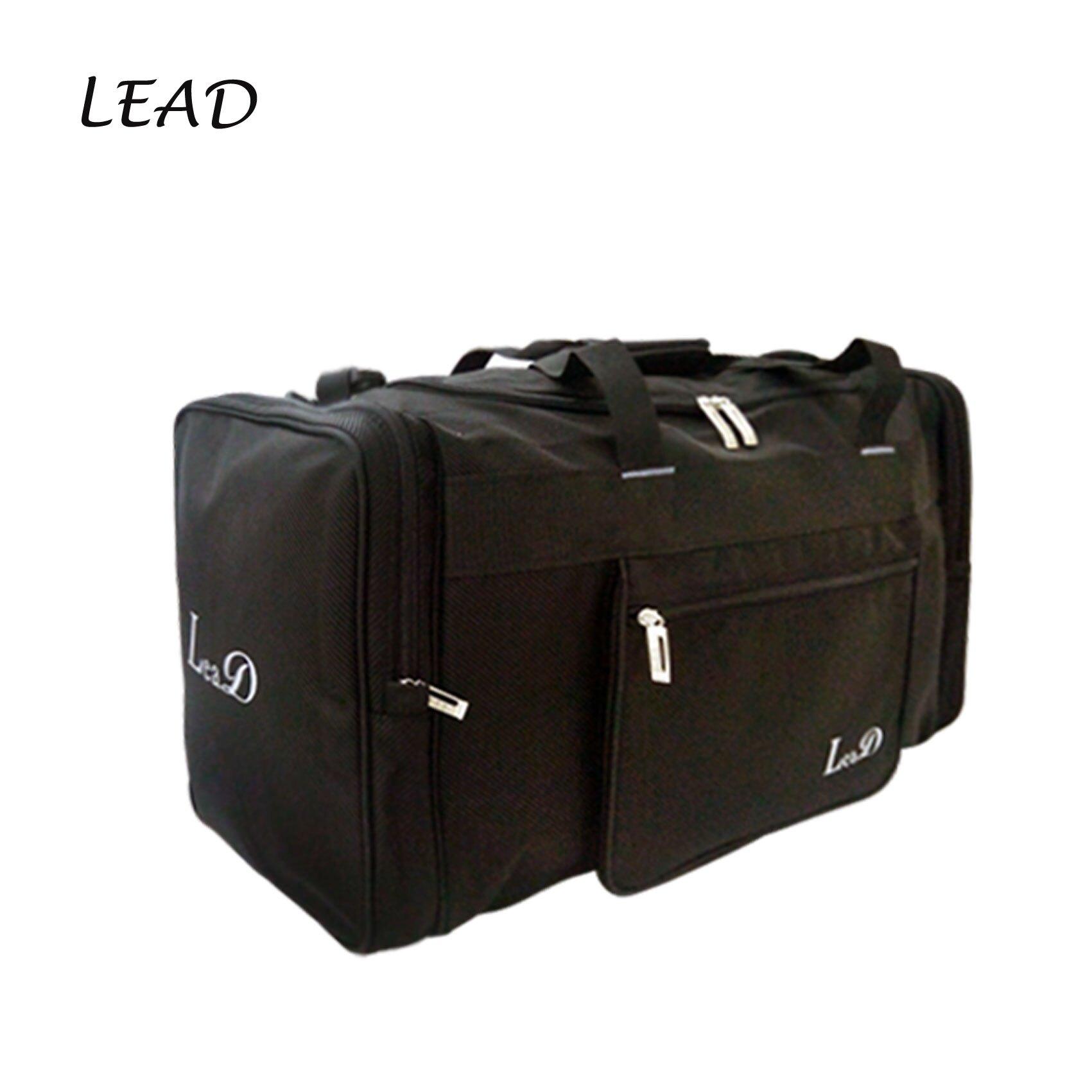 【加賀皮件】LEAD 防潑水 手提/肩背/斜背 收納袋 旅行袋 8822