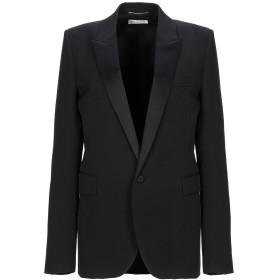 《セール開催中》SAINT LAURENT レディース テーラードジャケット ブラック 36 バージンウール 100%