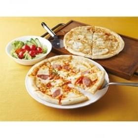 【牧成舎】飛騨のチーズたっぷりピザセット3枚 A36