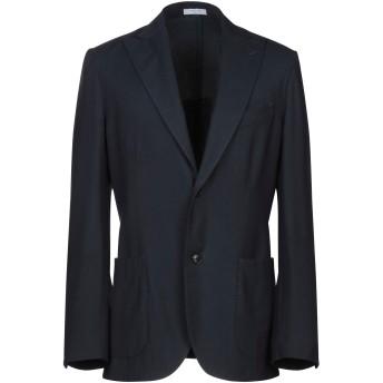 《期間限定セール開催中!》BOGLIOLI メンズ テーラードジャケット ダークブルー 48 バージンウール 100%
