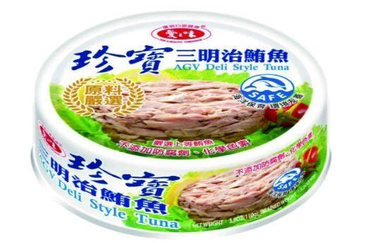 愛之味珍寶三明治鮪魚110g*6罐 【合迷雅好物商城】