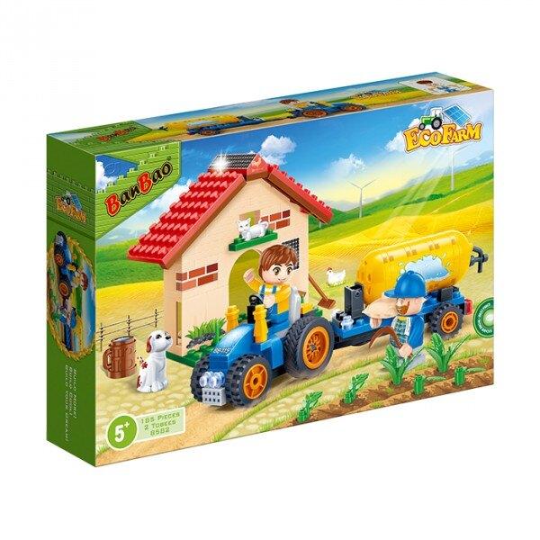 【BanBao 積木】8582 開心農場系列-農場澆水車