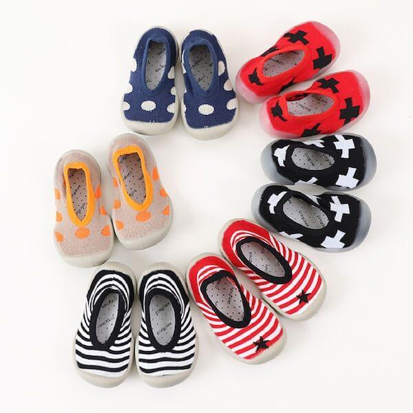 寶寶鞋襪 膠底防滑地板襪 襪鞋 學步鞋 嬰兒襪 CA1281 好娃娃