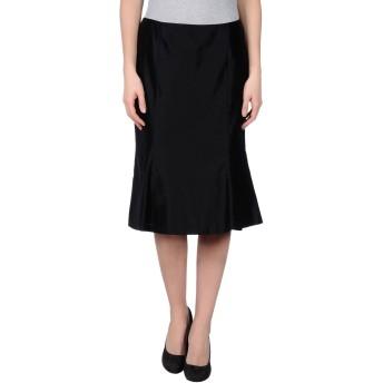 《セール開催中》CLIPS レディース 7分丈スカート ブラック 42 シルク 100%