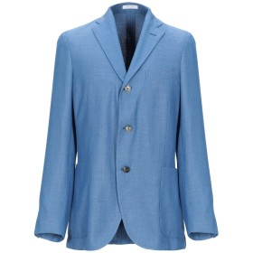 《期間限定セール開催中!》BOGLIOLI メンズ テーラードジャケット ブルーグレー 46 ポリエステル 86% / レーヨン 14%