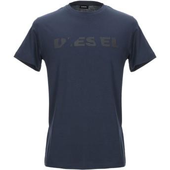 《期間限定セール開催中!》DIESEL メンズ T シャツ ダークブルー S コットン 100%