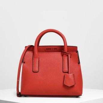 【2019 FALL 新作】タックインフラップ ストラクチャードバック / Tuck-In Flap Structured Bag(Red)